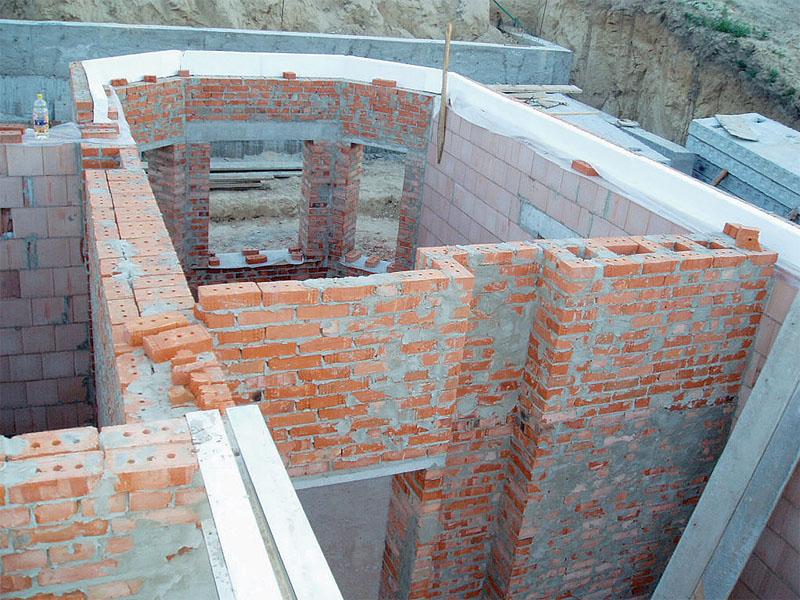 Как построить дом из кирпича своими руками от фундамента до крыши